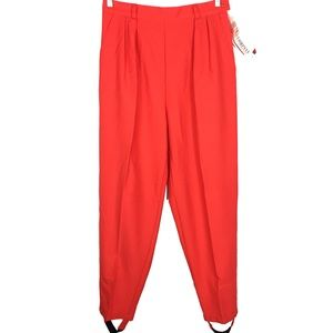 Vintage stirrup lounge casual career chic trousers